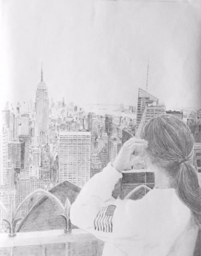 LOVE IS _______ .Travel. Amanda in New York